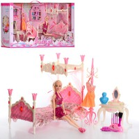 Кукла с мебелью для спальни Dream Set (889-1)