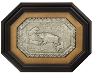 Подарок Сувенир 'Охота на кабана'