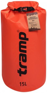 Гермомешок Tramp PVC Diamond Rip-Stop оранжевый 15л (4743131054257)