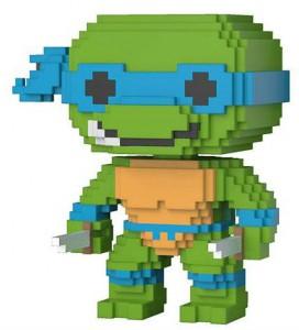 фигурка Игровая фигурка Funko Pop 'Черепашки-ниндзя Леонардо 8-бит' (22981)