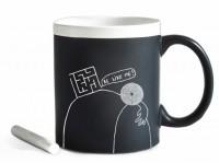 Подарок Чашка керамическая Gifty ' Be like me' 320 мл, с мелком (37327)