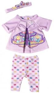 Набор одежды Zapf для куклы Baby Born 'Бабочка' (823545)