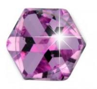 Подарок Серьги Biojoux Titan Swarovski Pink Cube 4 мм (BJ0644)