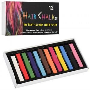 Мелки для волос Hair chalk, 12 шт (231-20622065)