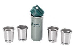 фото Набор туристической посуды Stanley фляга и 4 рюмки Adventure Combo, зеленый (4823082714711) #2