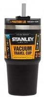 Термокружка Stanley Quencher 600 мл чорная (6939236341530)