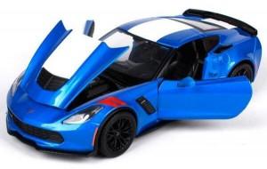 фото Автомодель Maisto 1:24 2017 Corvette Grand Sport синий металлик (31516 met. blue) #3