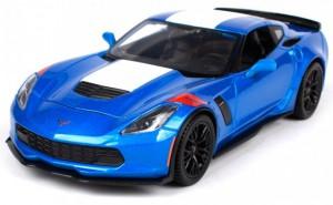 фото Автомодель Maisto 1:24 2017 Corvette Grand Sport синий металлик (31516 met. blue) #4