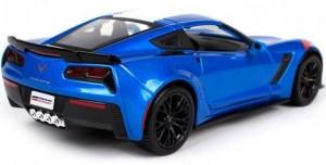 фото Автомодель Maisto 1:24 2017 Corvette Grand Sport синий металлик (31516 met. blue) #5