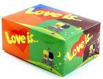 Подарок Жевательная резинка 'Love is...' Mix, блок 80 шт.