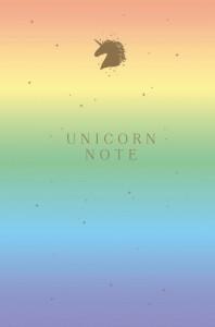 Книга Блокнот 'Unicorn Note'