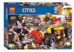 Конструктор Cities' Тяжелый горный бур ' (10875)