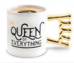 Керамическая чашка Queen of everything (top-720)