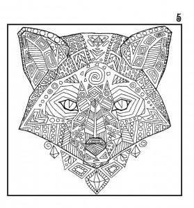 фото страниц Лисы. Рисунки для медитаций #4