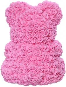 фото Мягкая игрушка UFT Bear Flowers Мишка из роз Pink 27 см (BB2) #3