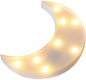 Подарок Светильник-ночник UFT Funny Lamp Moon Месяц 24 см (UFTFunnyLampMoon)