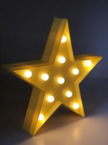 фото Светильник-ночник UFT Звездочка Funny Lamp Star yellow (UFTFunnyLampStar) #3