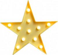 Подарок Светильник-ночник UFT Звездочка Funny Lamp Star yellow (UFTFunnyLampStar)