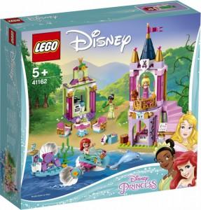 Конструктор LEGO Disney Princess 'Королевский праздник Ариэль, Авроры и Тианы'  (41162)