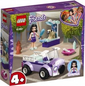 Конструктор Lego Friends  'Передвижная ветклиника Эммы' (41360)
