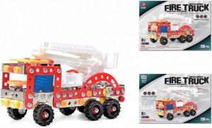фото Конструктор Qunxing Toys Пожарная машина 239 деталей (428) #3