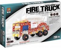 Конструктор Qunxing Toys Пожарная машина 239 деталей (428)