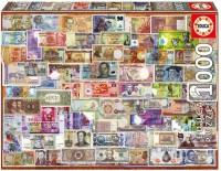 Пазл Educa 'Банкноты' 1000 элементов (EDU-17659)