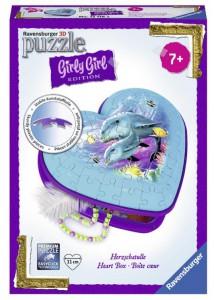 Пазл 3D Ravensburger Girly Girl. Шкатулка Подводный мир 54 элемента (RSV-121182)