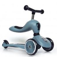Самокат Scoot and Ride 'Highwaykick-1' серо-синий (SR-160629-STEEL)
