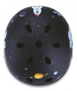 фото Шлем защитный детский GLOBBER Ракета черный (XS) (500-006) #5