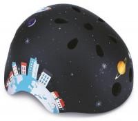 Шлем защитный детский GLOBBER Ракета черный (XS) (500-006)