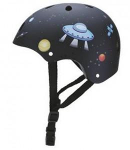 фото Шлем защитный детский GLOBBER Ракета черный (XS) (500-006) #4