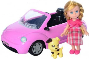 Кукла 'Road Star' с машиной, питомцем и аксессуарами (63016B)
