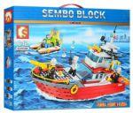 Конструктор Sembo Block 'Пожарная команда', 474 детали (SD603036)