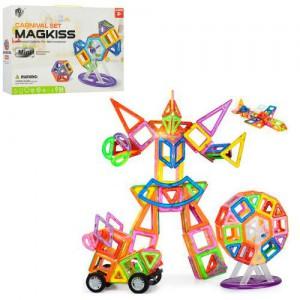 фото Магнитный конструктор Magkiss 'mini', 56 деталей (HD341A) #2