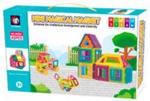 Магнитный конструктор 'Mini Magical Magnet', 42 детали (M005)