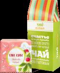 Подарок Подарочный суперкомплект: набор для выращивания 'Live cube' земляника + зеленый чай 'Для счастья'