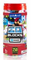 Конструктор Guidecraft IO Blocks Minis, 250 деталей (G9611)