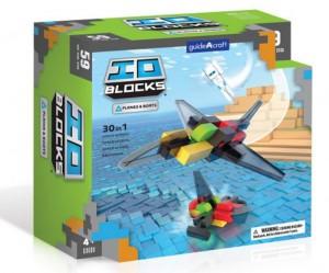 Конструктор Guidecraft IO Blocks 'Самолеты и корабли' 59 деталей (G9608)