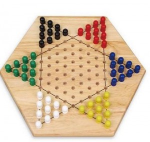 фото Настольная игра Viga Toys 'Китайские шашки' (56143) #2