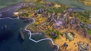 скриншот  Ключ для Civilization VI: Gathering Storm  - русская версия - RU #2
