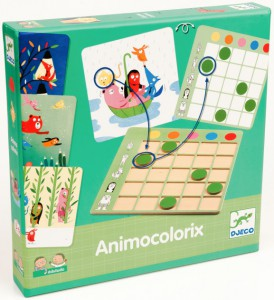 фото Настольная игра Djeco 'Animo Colorix' (DJ08359) #2