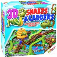 Настільна гра JoyBand 'Змійки та сходинки' (40405)