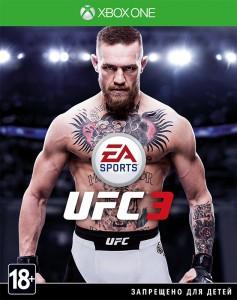 игра EA Sports UFC 3 Xbox One - русская версия