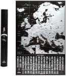 Подарок Скретч карта Европы My Map Europe Edition