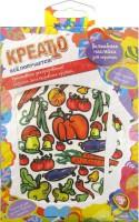 Подарок Волшебные наклейки для керамики Креатто 'Овощи и фрукты'