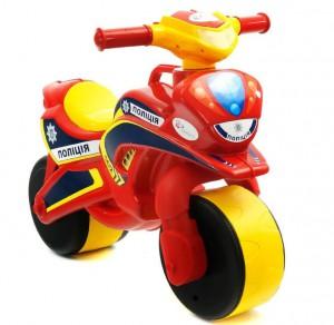 Музыкальный мотоцикл-каталка 'Полиция' (0139/56)