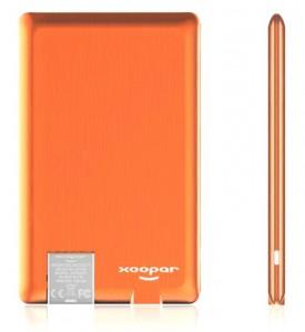Внешний аккумулятор Xoopar 'Power Card', Li-Pol, 1300 mAh (XP61057.20RV)