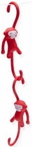 фото Крючки для кухни Monkey Business 'Just Hanging', красные (MB936) #3