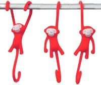 Подарок Крючки для кухни Monkey Business 'Just Hanging', красные (MB936)